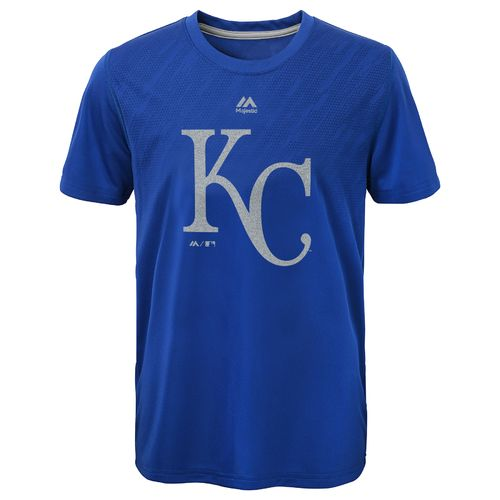 MLB Boys' Kansas City Royals Geo Fuse Fade T-shirt