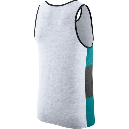 Nike Men's Jacksonville Jaguars Dry Stripe Tank Top - view number 2