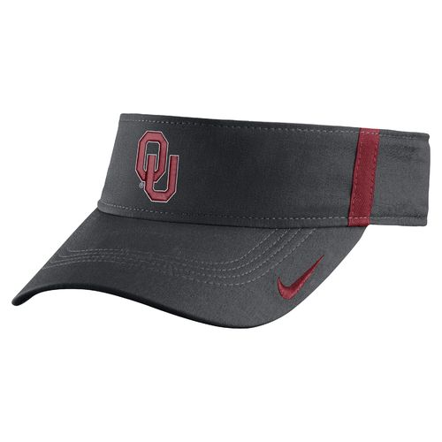 Nike™ Men's University of Oklahoma AeroBill Sideline Visor
