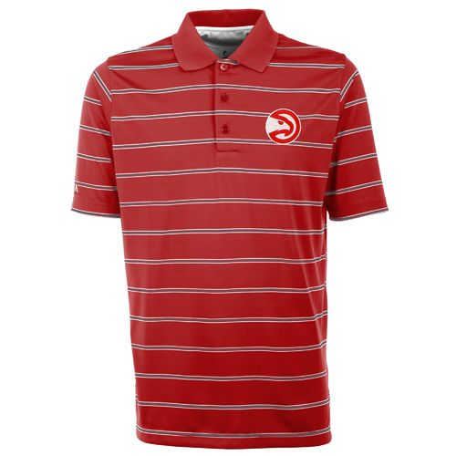 Antigua Men's Atlanta Hawks Deluxe Polo Shirt