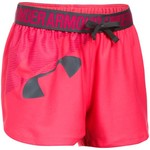 Under Armour Girls' Graphic Play Up Training Short - view number 1