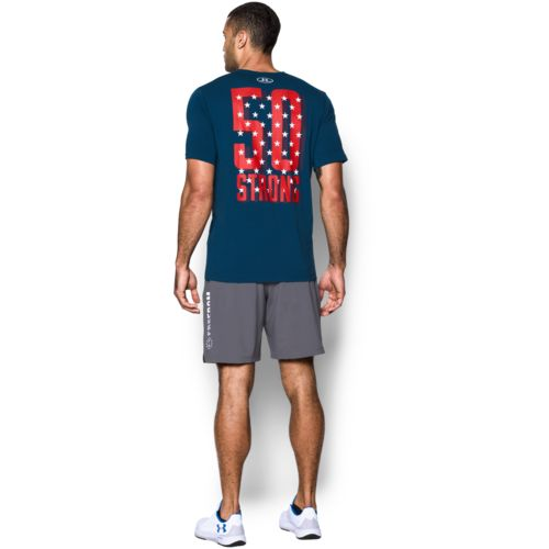 Under Armour Men's Freedom 50 Strong Short Sleeve T-shirt - view number 4