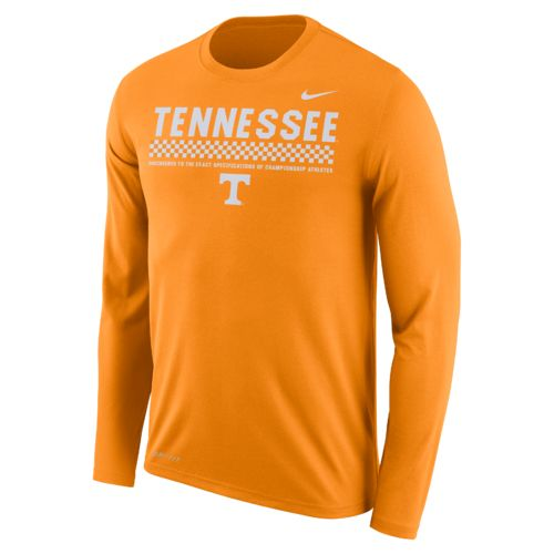 Nike™ Men's University of Tennessee Dry Legend Long Sleeve Staff T-shirt