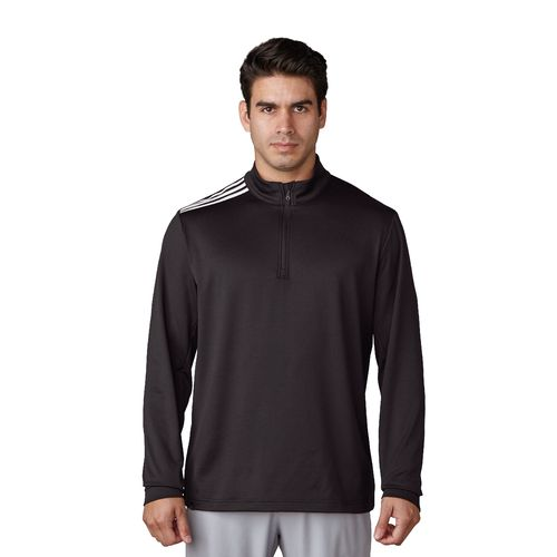 adidas Men's 3-Stripes Classic 1/4 Zip Pullover