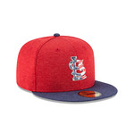 New Era Men's St. Louis Cardinals Stars and Stripes 2T '17 59FIFTY Cap - view number 4