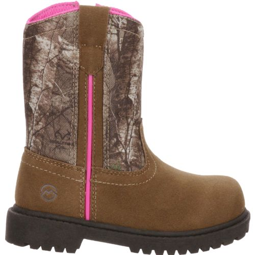 Display product reviews for Magellan Outdoors Toddler Girls' Scout Wellington Hunting Boots