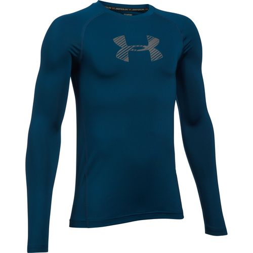 Under Armour Boys' Armour Long Sleeve T-shirt