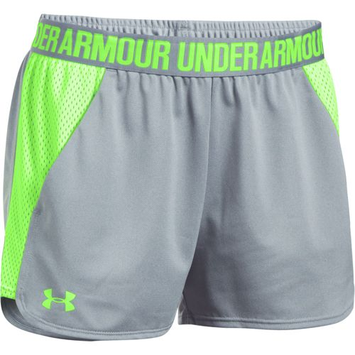 Under Armour Women's Play Up 2.0 Mesh Inset Training Short