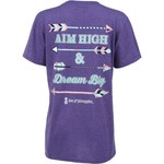 Love & Pineapples Women's Aim High T-shirt - view number 1