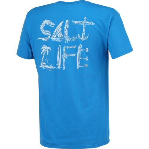 Salt Life Men's Icons of Salt Short Sleeve T-shirt - view number 2