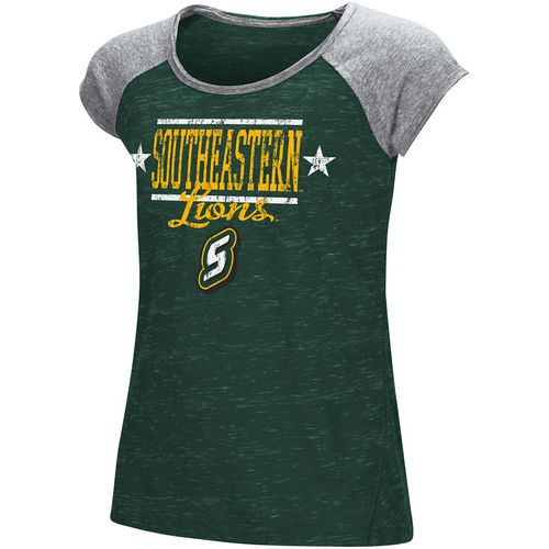 Colosseum Athletics Girls' Southeastern Louisiana University Sprints T-shirt - view number 1