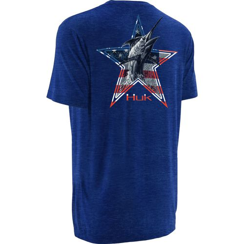 Huk Men's KScott American Marlin T-shirt
