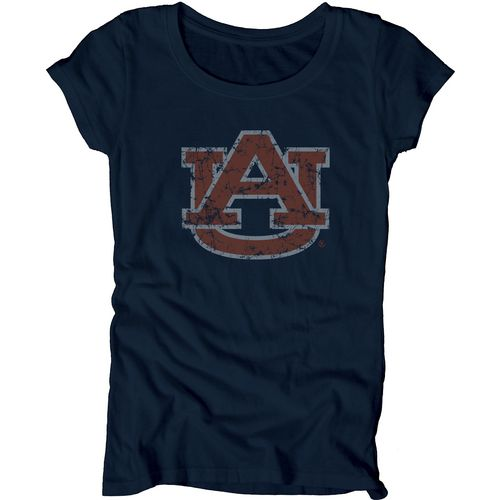 Blue 84 Juniors' Auburn University Mascot Soft T-shirt