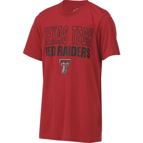 Colosseum Athletics Boys' Texas Tech University Team Mascot T-shirt - view number 3