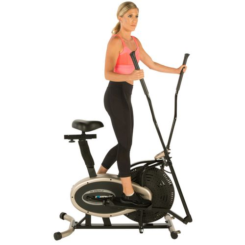 Exerpeutic GOLD XL9 Aero Elliptical and Exercise Bike Dual Trainer - view number 1