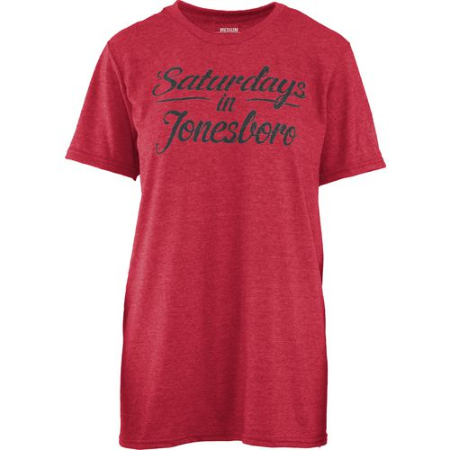 Three Squared Juniors' Arkansas State University Saturday T-shirt