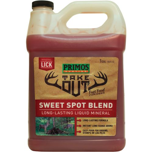 Display product reviews for Primos Take Out 1 gal Sweet Spot Attractant