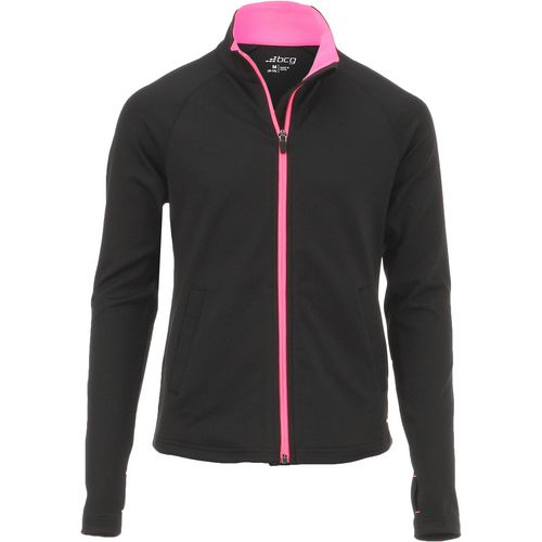 BCG Girls' Performance Full Zip Training Jacket - view number 1