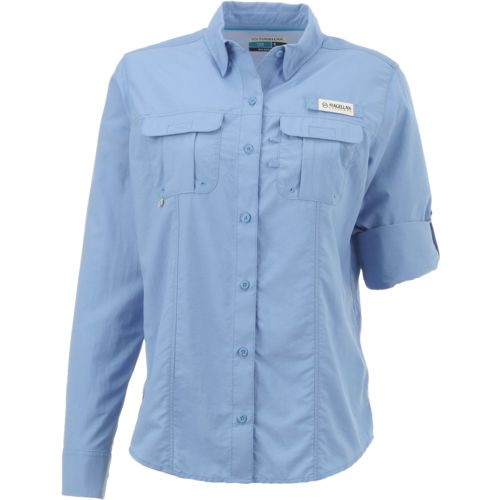 Display product reviews for Magellan Outdoors Women's Laguna Madre Long Sleeve Shirt