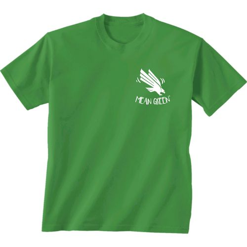 New World Graphics Girls' University of North Texas Where the Heart Is Short Sleeve T-shirt - view number 2