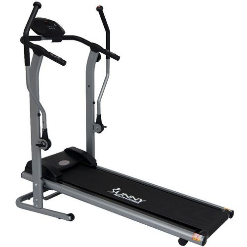 Sunny Health & Fitness Cross Training Magnetic Treadmill