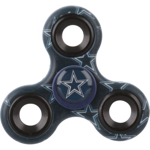 Forever Collectibles Dallas Cowboys 3-Way Printed Diztracto Spinnerz Toy