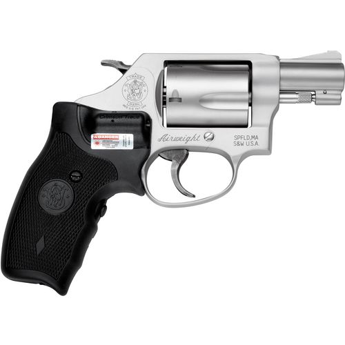 Smith & Wesson 637 Airweight Crimson Trace Lasergrip .38 Special Revolver - view number 3