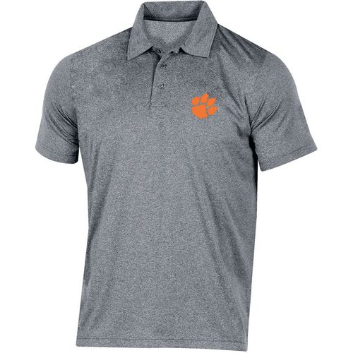 Champion Men's Clemson University Heather Polo Shirt