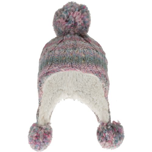 Magellan Outdoors Girls' Jacquard Knit Peruvian Hat