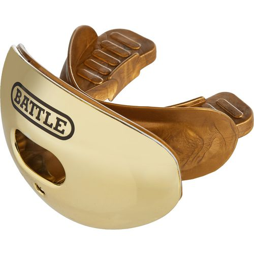 Battle Adults' Chrome Oxygen Football Mouth Guard