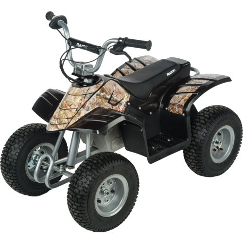 Display product reviews for Razor® Kids' Dirt Quad Camo 4 Wheeler