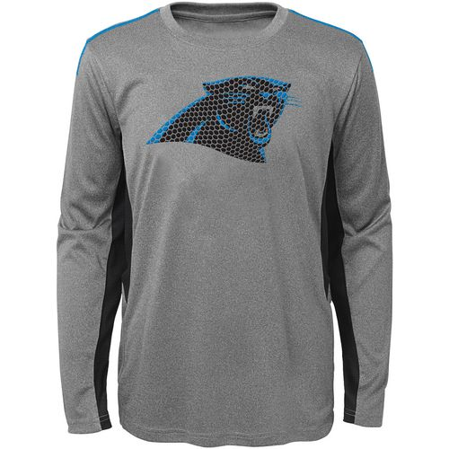 NFL Boys' Carolina Panthers Mainframe Performance T-shirt
