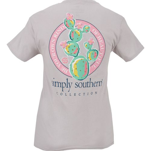 Simply Southern Women's Cactus Graphic T-shirt