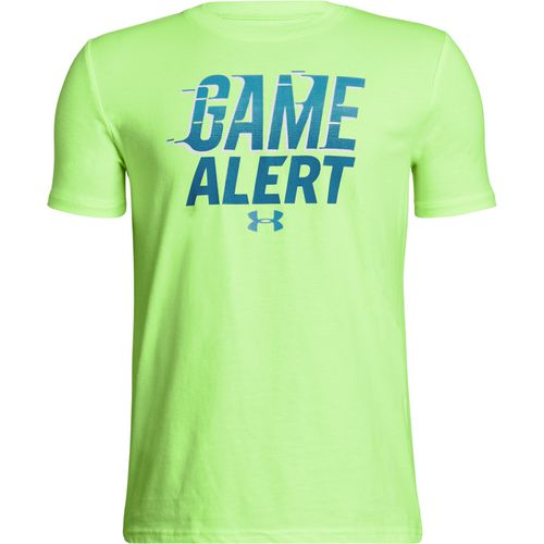 Under Armour Boys' Game Alert Short Sleeve T-shirt