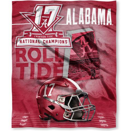 The Northwest Company Alabama Crimson Tide 2017 CFP Champions Silk Touch Throw