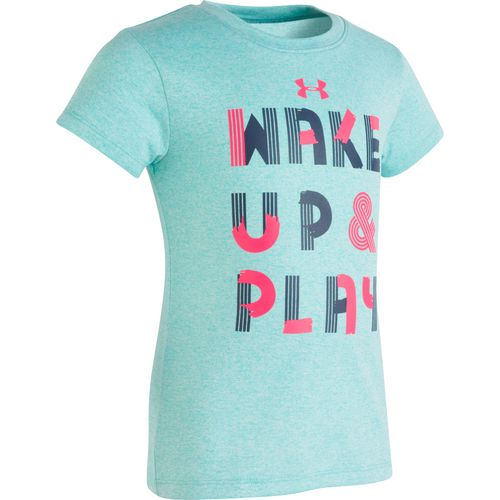 Under Armour Toddler Girls' Wake Up and Play T-shirt