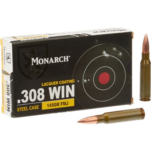 Monarch® FMJ .308 Winchester 150-Grain Rifle Ammunition - view number 1
