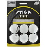 Stiga® 3-Star Table Tennis Balls 6-Pack