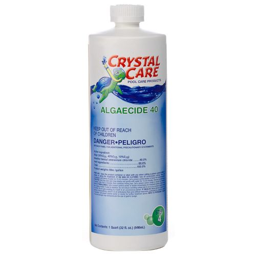 Crystal Care 1 qt. Algaecide 40