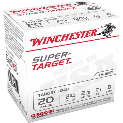 Display product reviews for Winchester Target Load 20 Gauge 8 Shotshells