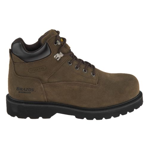 Image for Brazos® Men's Dane III Steel-Toe Work Boots from Academy