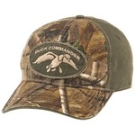 Duck Commander Men's Green/Camo Logo 2-Tone Cap