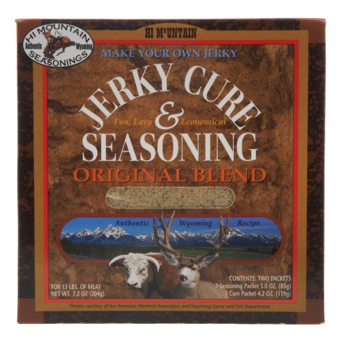 Hi Mountain Jerky Original Blend Jerky Seasoning and Cure