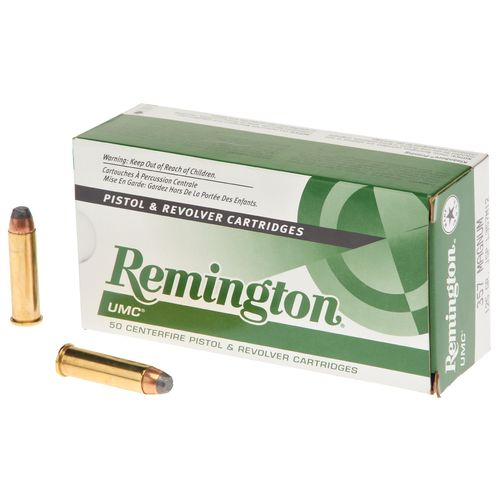 Remington UMC .357 Magnum 125-Grain Centerfire Handgun Ammunition
