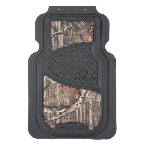 Mossy Oak 2-Piece Rubber Floor Mat Set