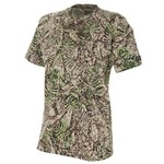 Brush Country Camouflage Men's Short Sleeve Cotton Pocket T-shirt