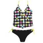 O'rageous® Girls' Check It Out Tankini