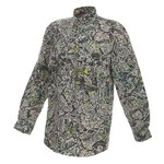 Brush Country Camouflage Men's Allover Mesquite Camo Pattern Long Sleeve Shirt