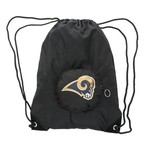 Concept One St. Louis Rams Tuckaway Collapsible Backsack
