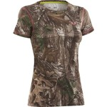 Under Armour® Women's EVO HeatGear® Short Sleeve Camo T-shirt